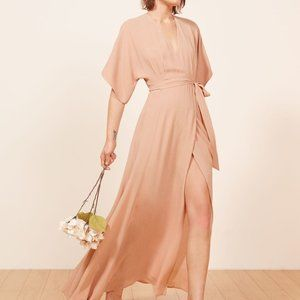 NWOT Reformation Winslow Dress Blush